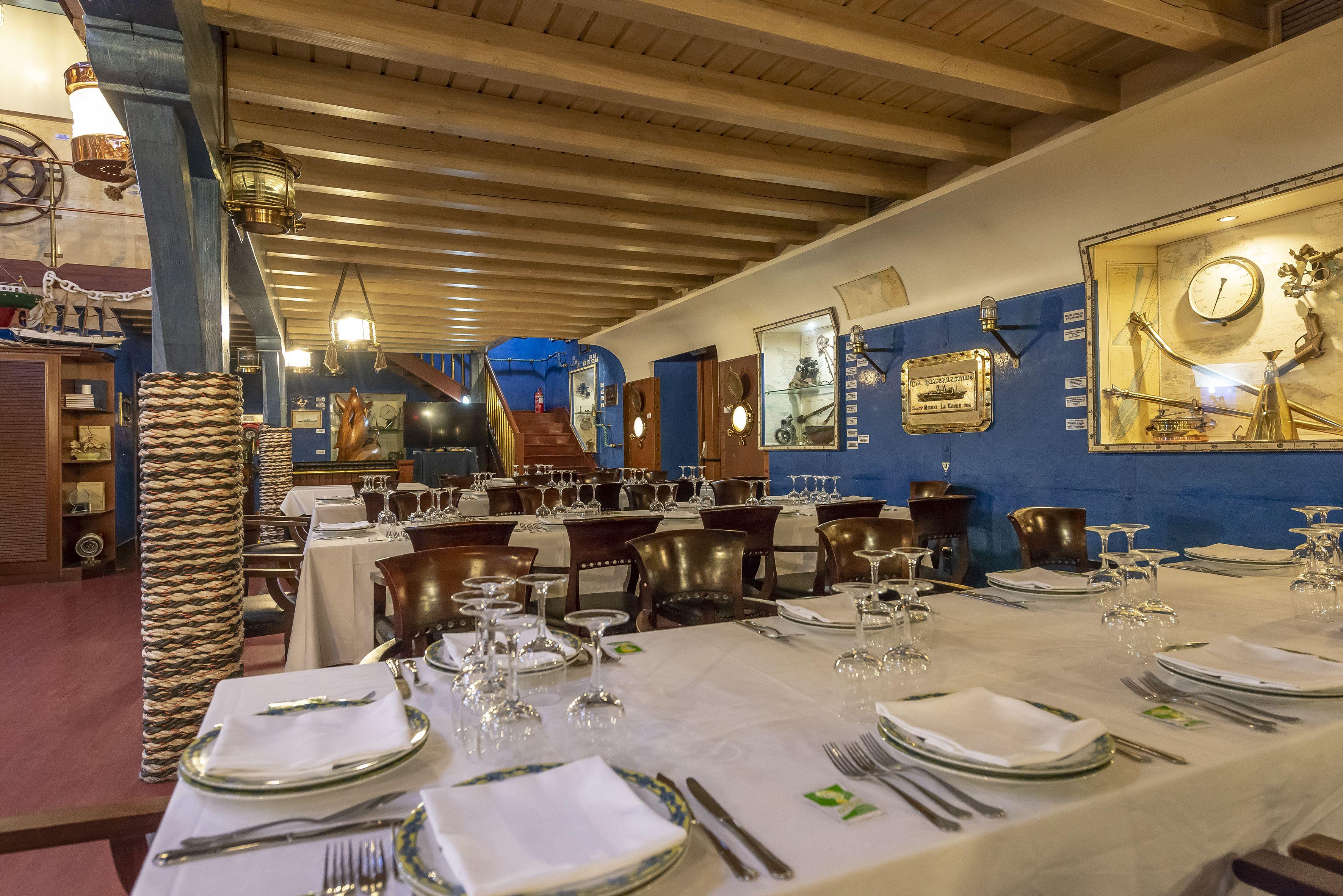 Foto 1 de Restaurante para celebraciones en  | Restaurante Untzigain - Museo el Barco