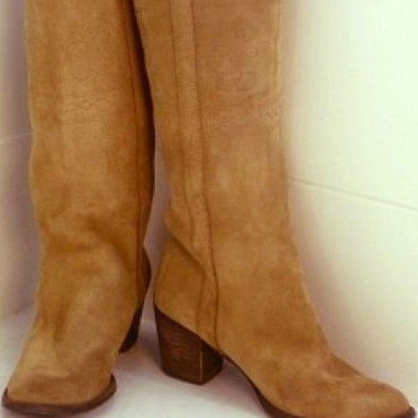 Limpieza de botas de piel