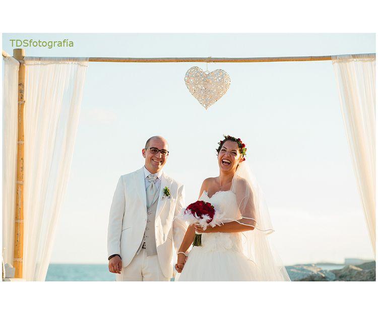 Momentos inolvidables de boda en la playa