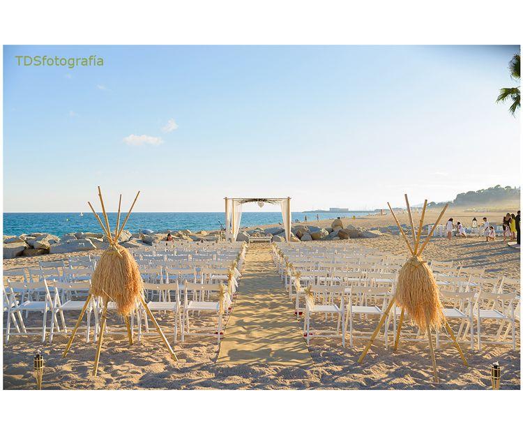 Los mejores momentos de una boda en la playa