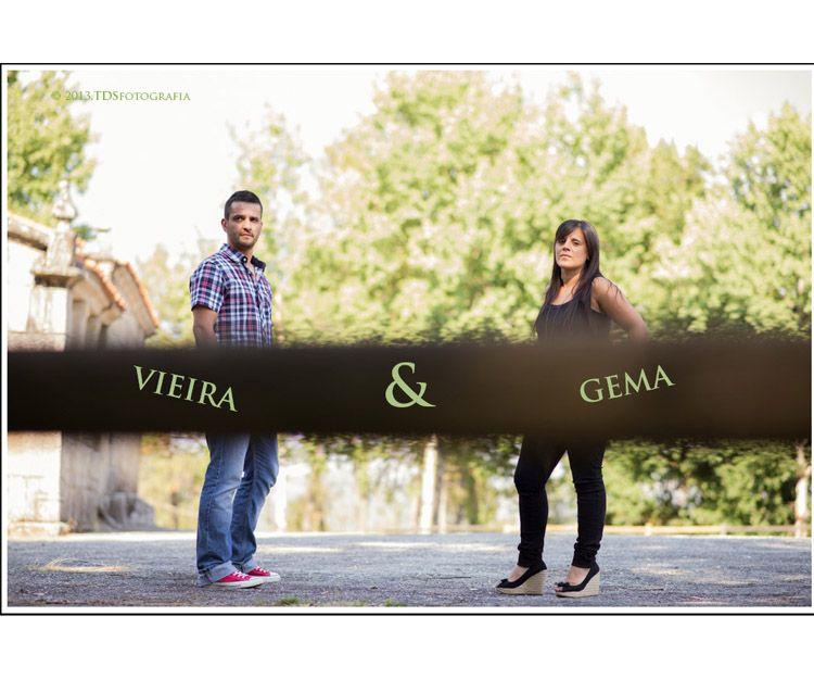 Preboda de Gema y Vieira
