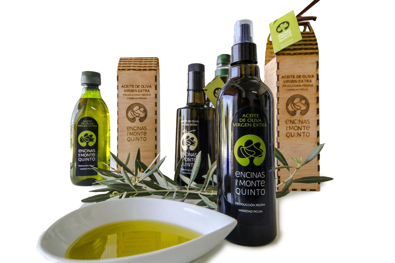 Aceite de oliva virgen extra de producción propia
