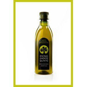 Botella de plástico de 0,5 l.