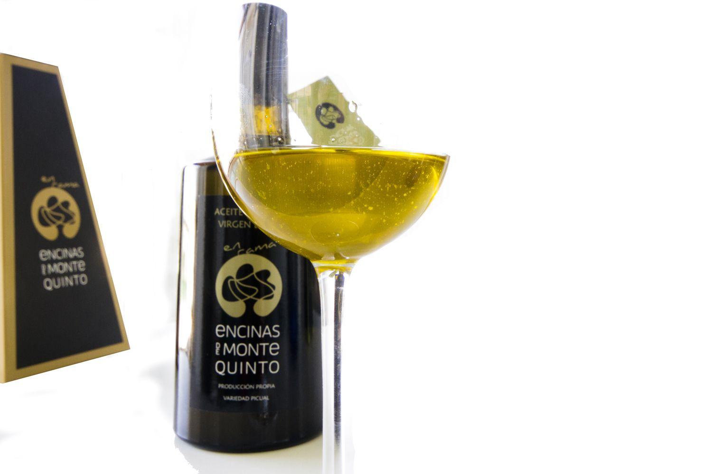 Variedad picual de aceite de oliva virgen extra en Jaén
