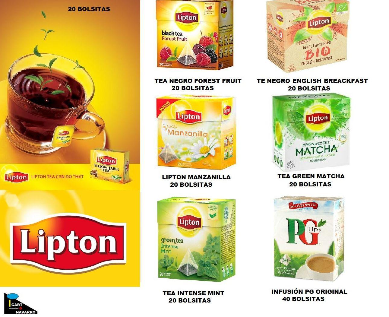 ORIGEN CÁPSULAS -LIPTON : Golosinas y caramelos de Distribuciones Icart & Navarro