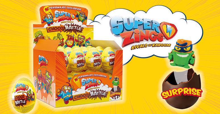 HUEVOS CHOCOLATE SUPER ZINGS