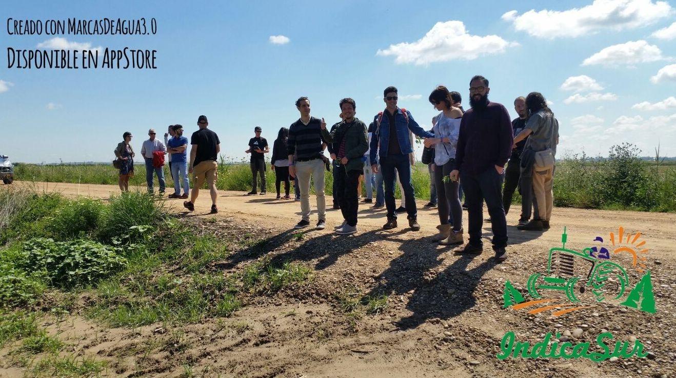 Visita de Expocañamo a los cultivos de sevilla
