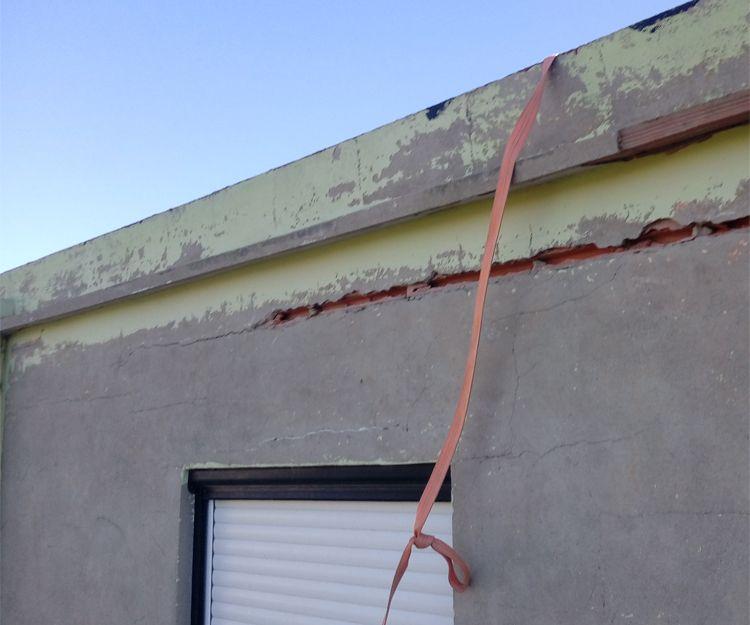 Proceso de rehabilitación de fachadas en Tavernes de la Valldigna