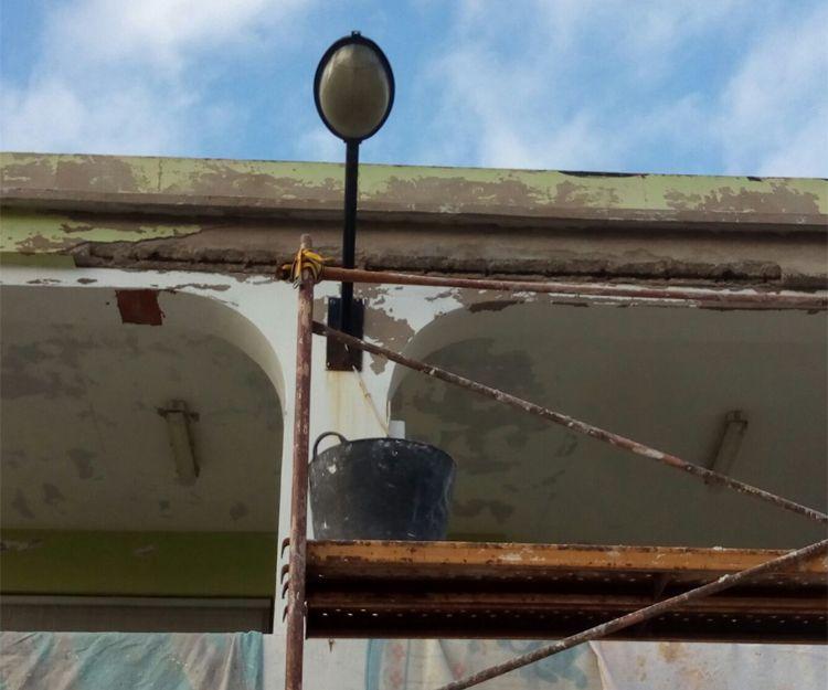 Trabajos de pintura exterior en Tavernes de la Valldigna
