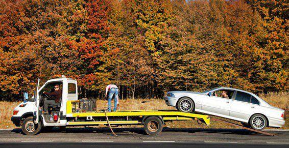 Servicio de grúa 24 horas: Servicios de Auto Express