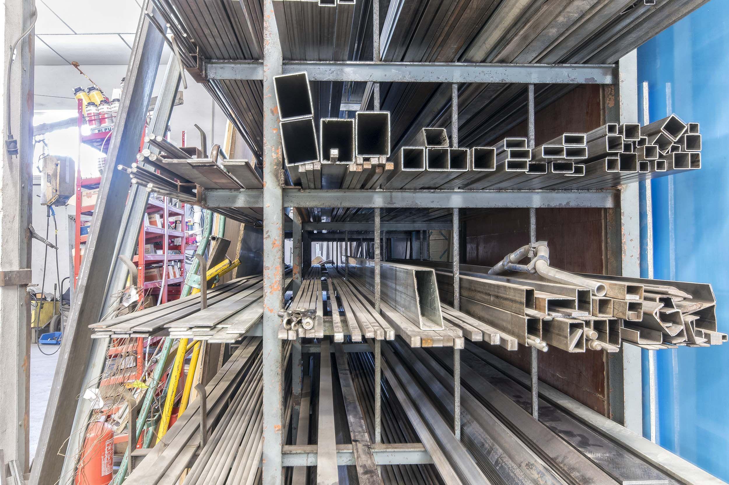 Fabricación propia de estructuras de aluminio en Calpe