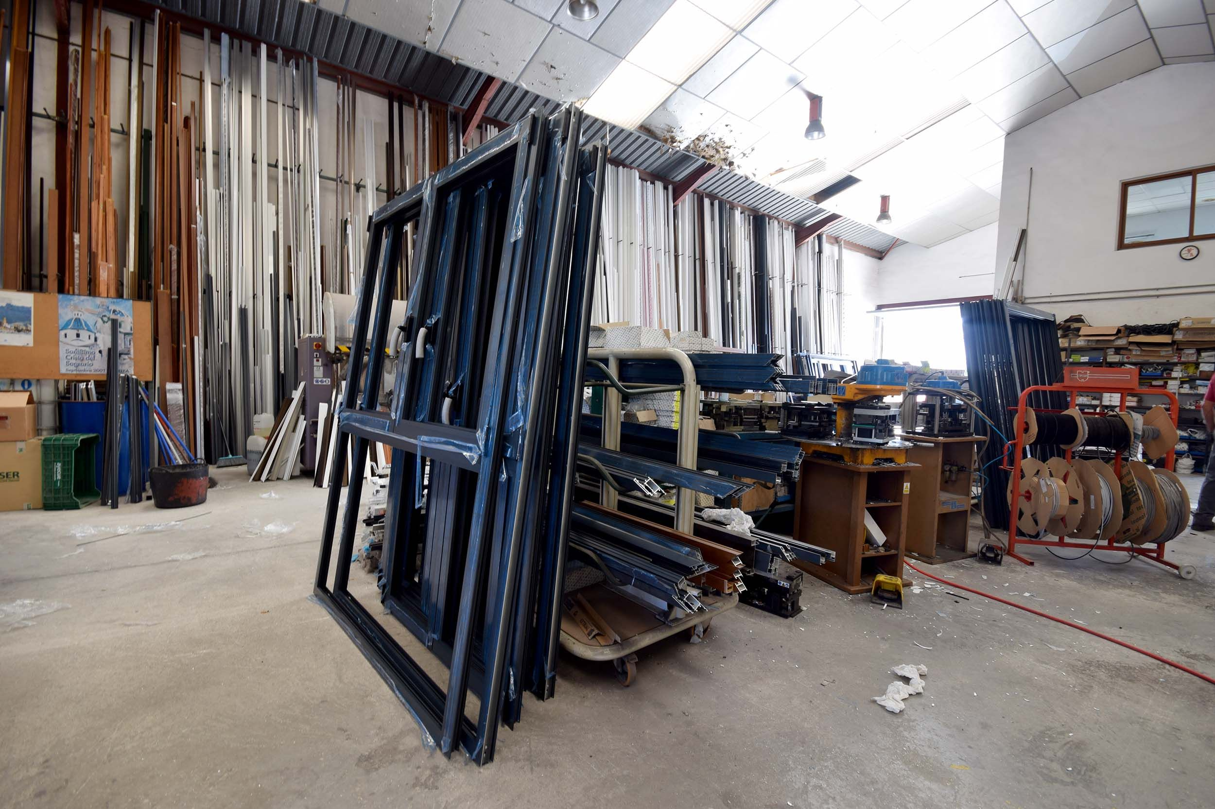 Carpintería de aluminio en general en Calpe
