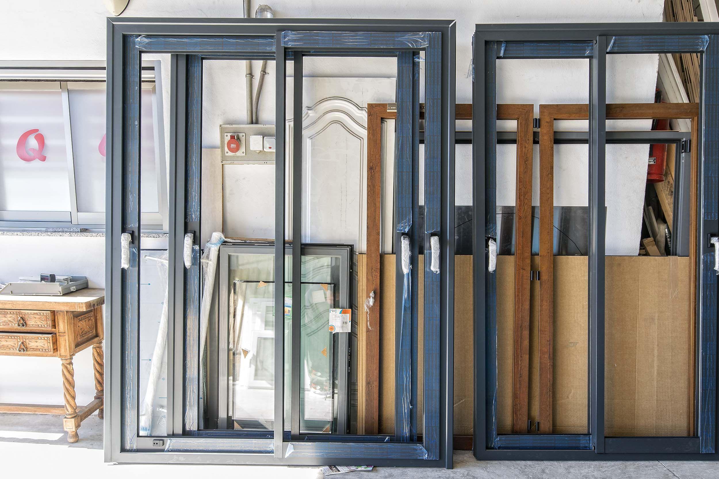 Ventanas y puertas de aluminio en Altea