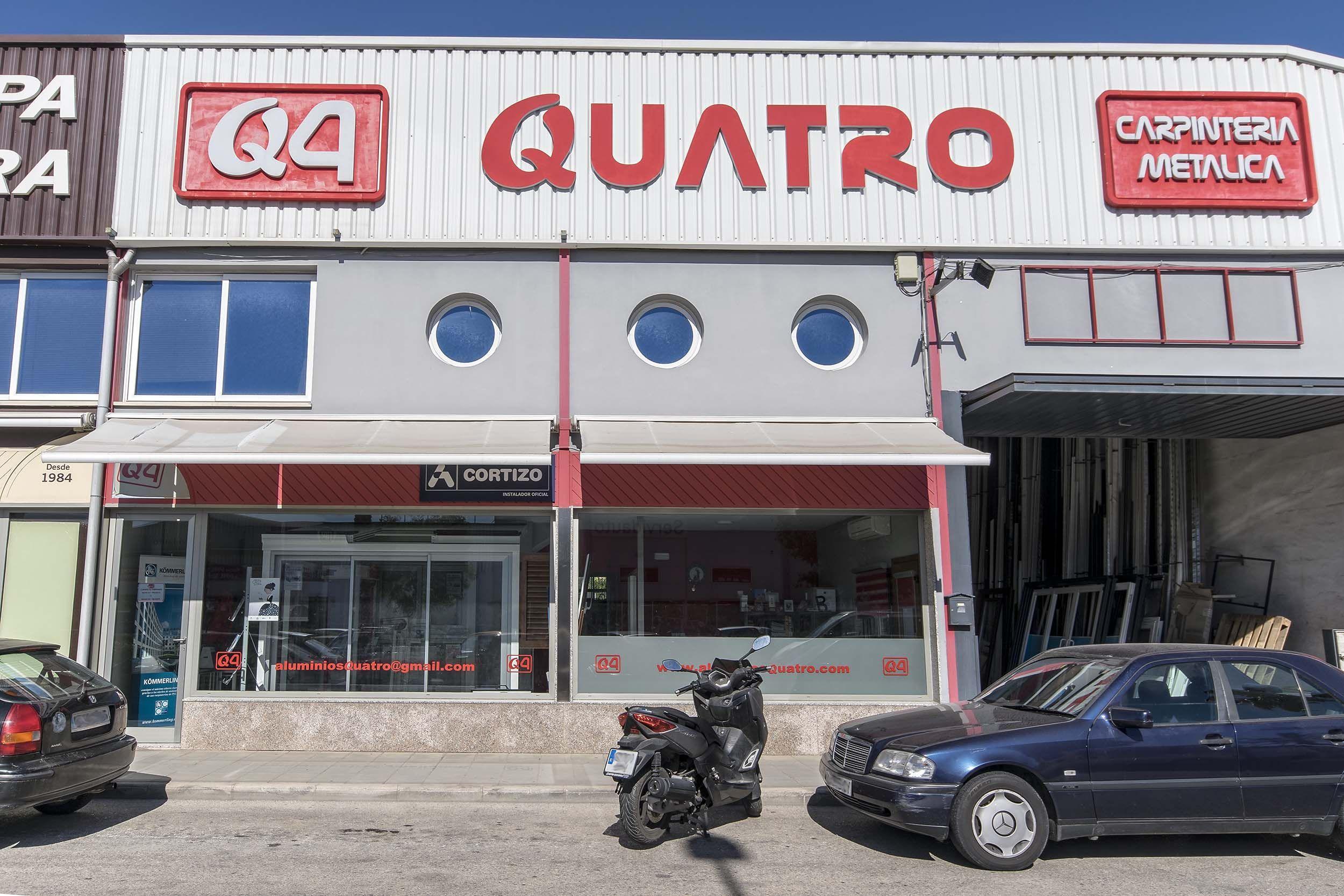 Foto 42 de Especialistas en cerramientos de aluminio y PVC en  | Aluminios Quatro