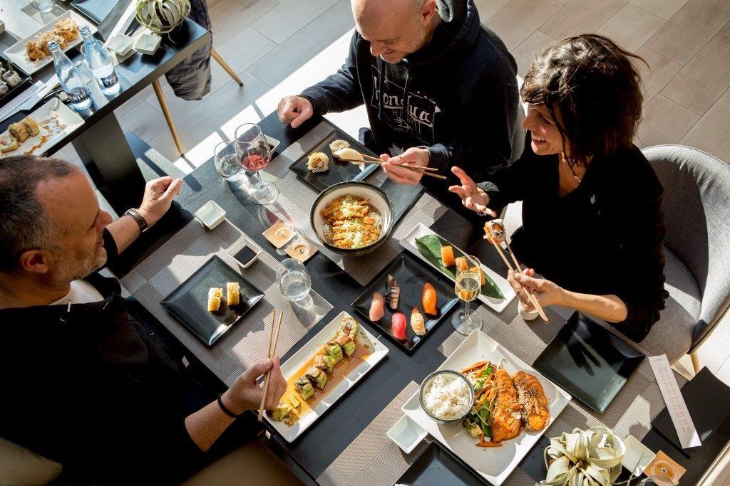 Comida japonesa en Poble Sec, Barcelona