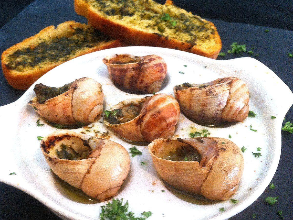 Escargots a la bourguignone