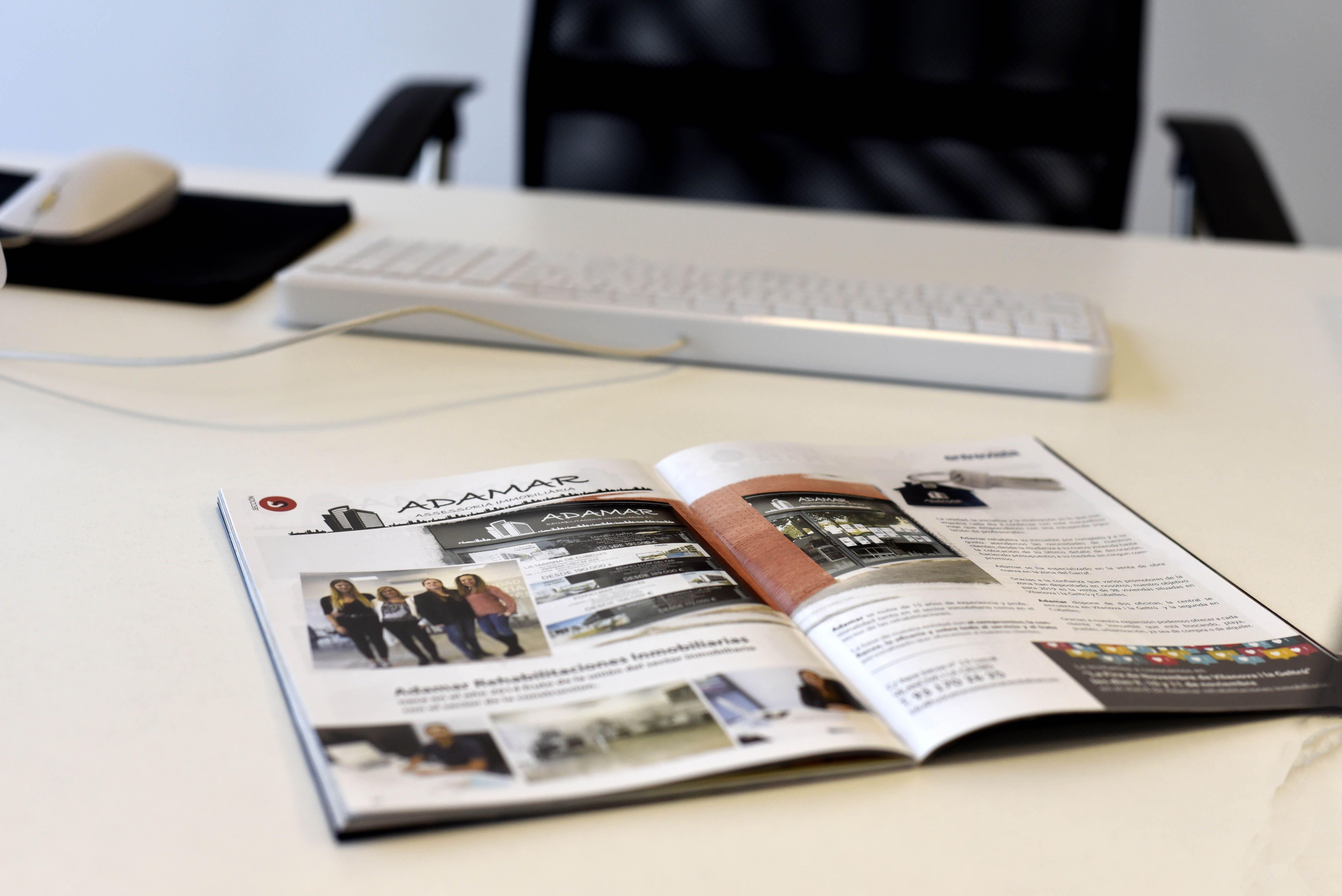 Publicidad en revista