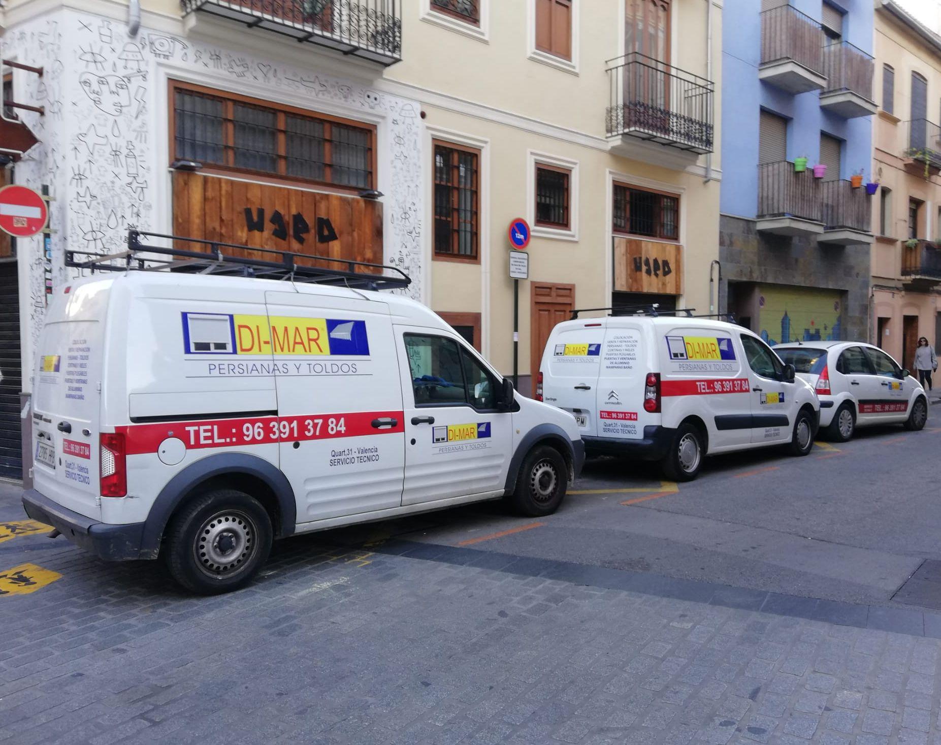Instalación, venta y reparación de Toldos y Persianas en Valencia