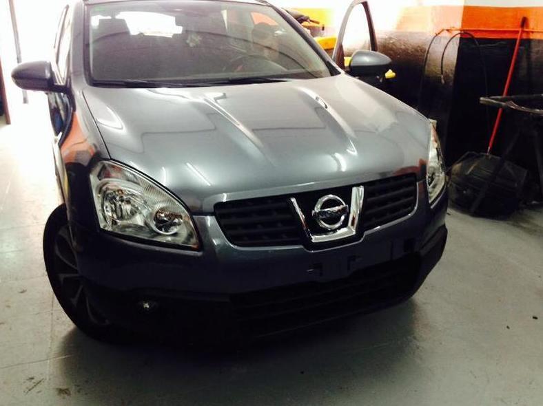 Nissan Qashqai  después de su reparación