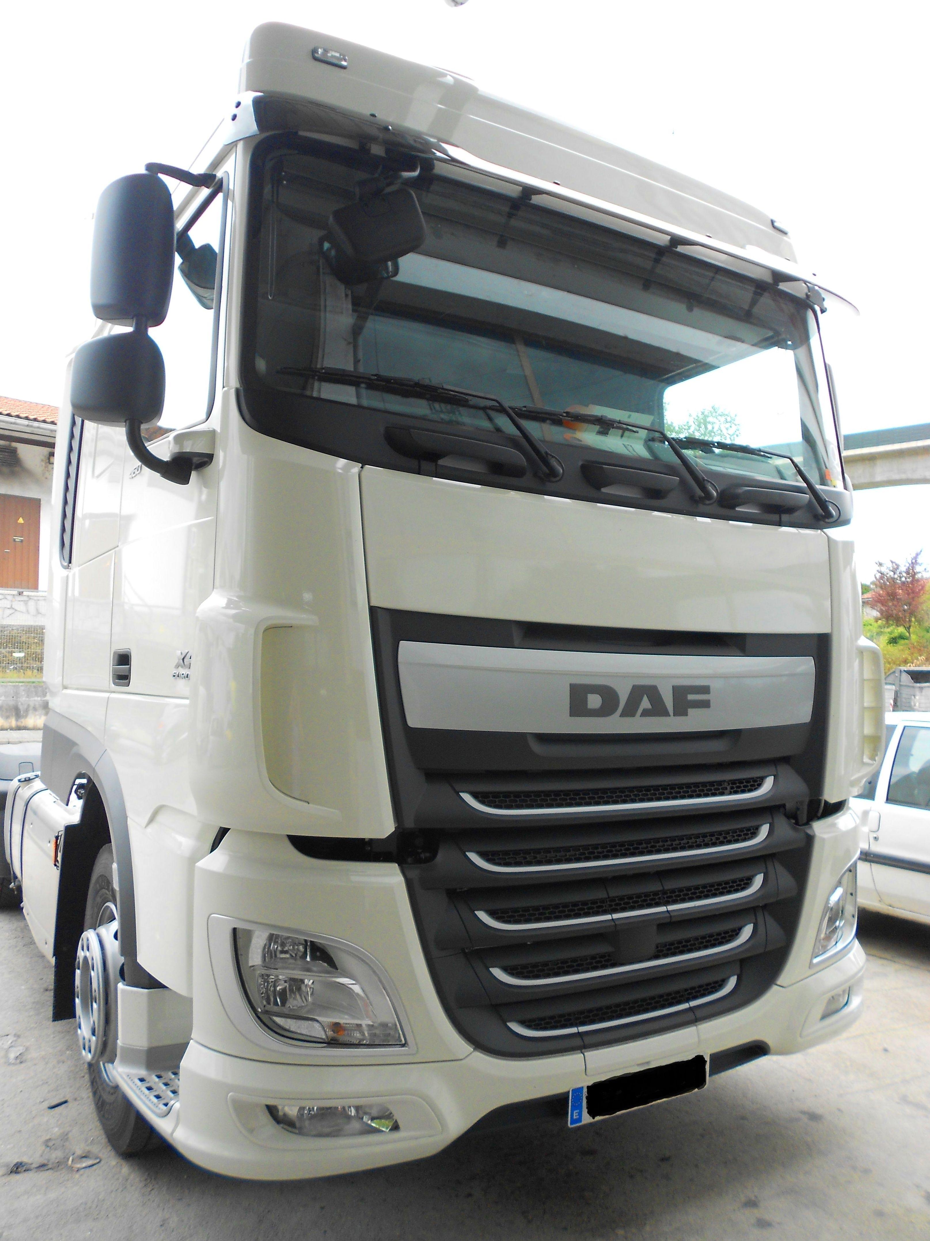 Camión Daf sin rotular