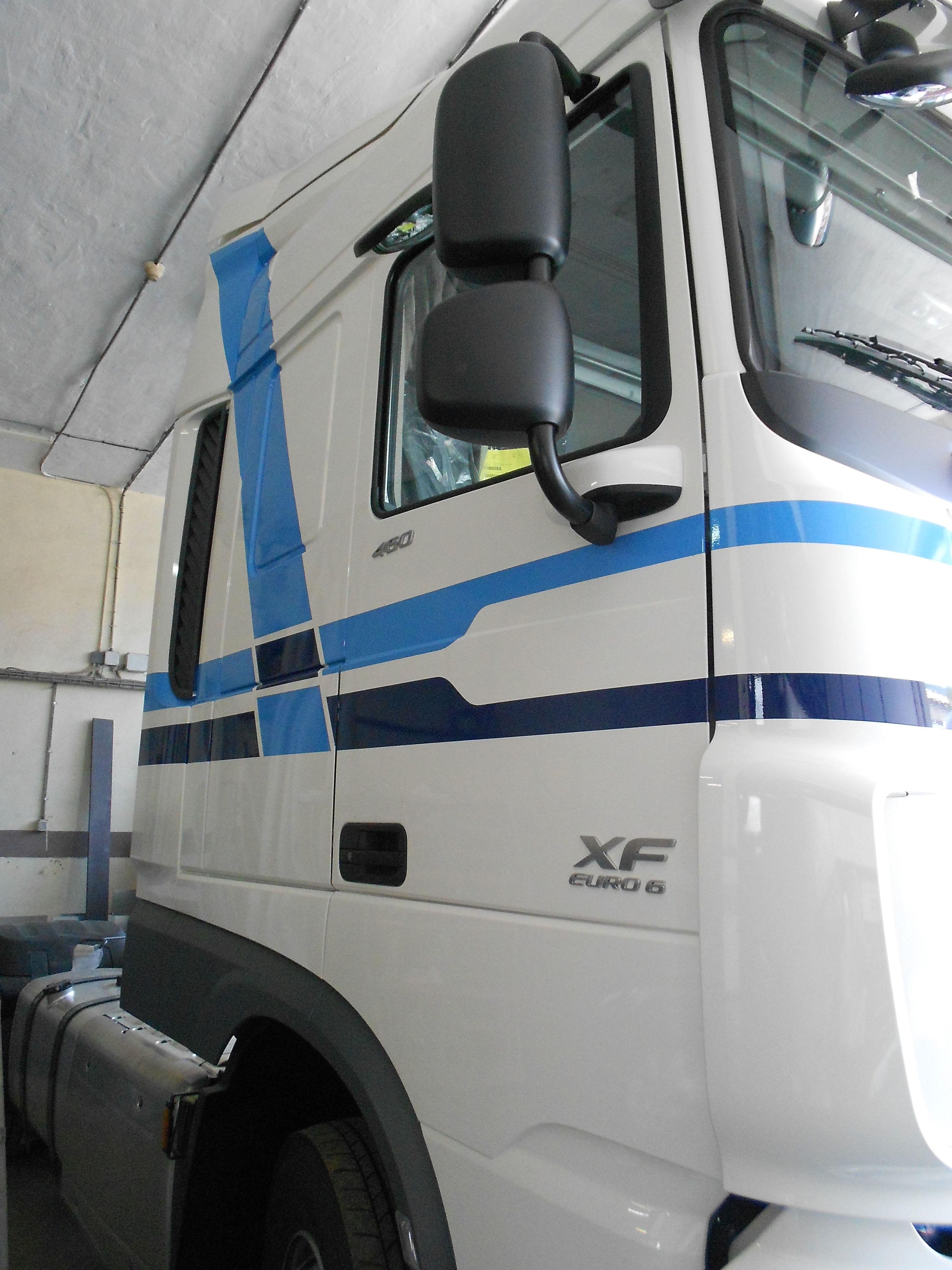 Camión Daf rotulado II