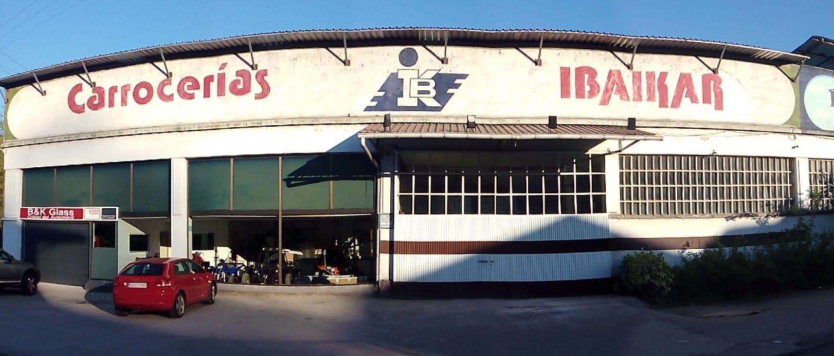 Taller de reparación de carrocerías de vehículos en Amorebieta-Etxano