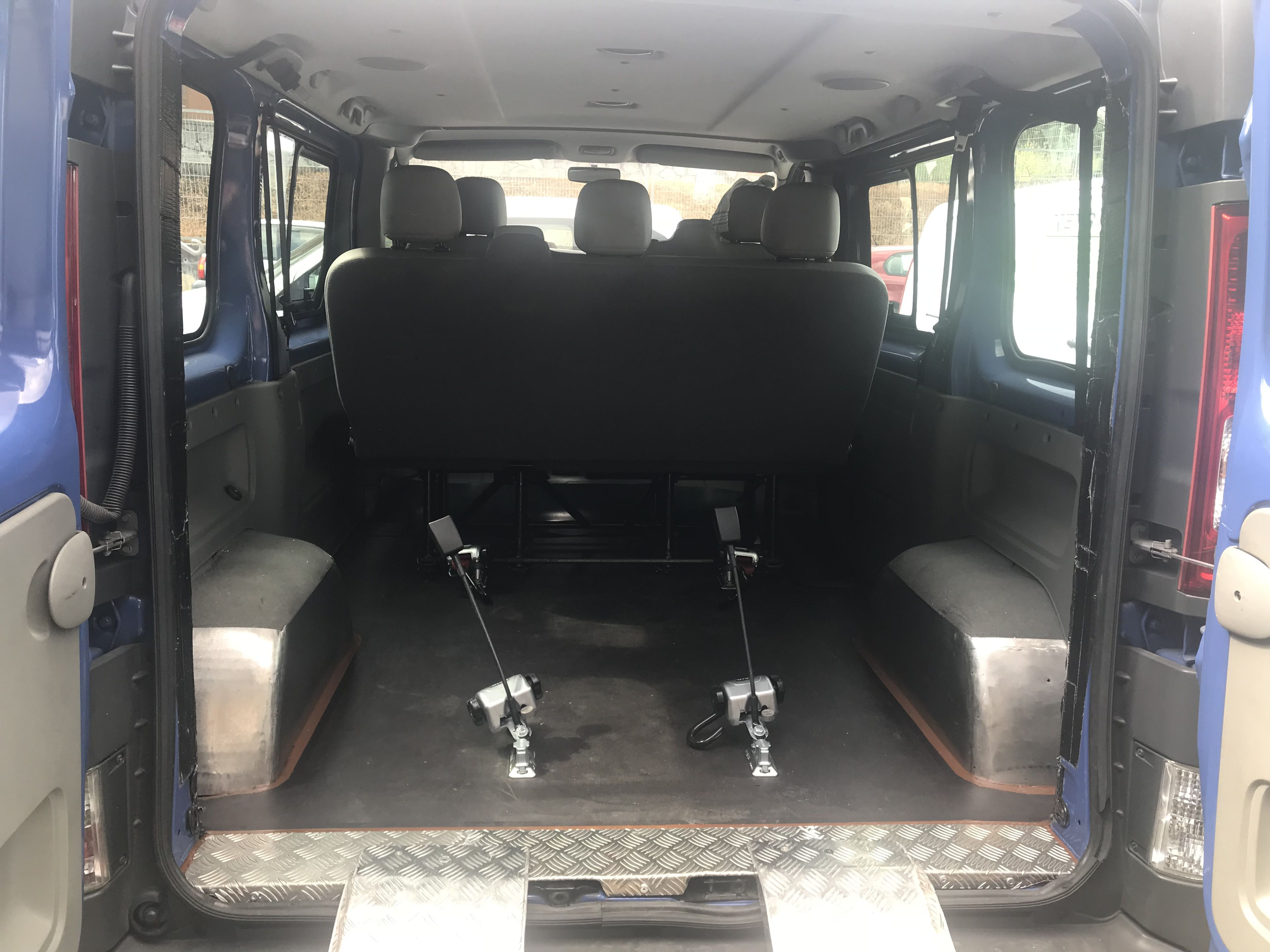 Adaptación realizada en Opel Vivaro
