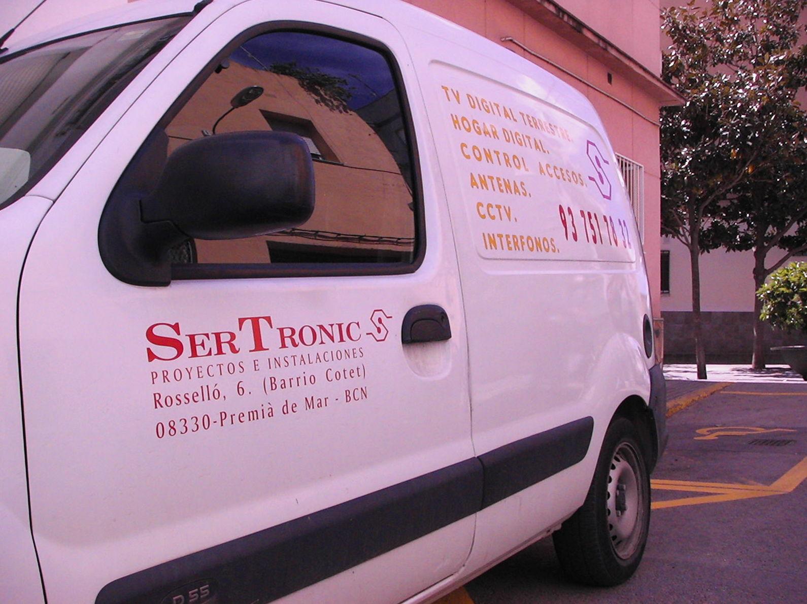 SerTronic Proyectos e Instalaciones para particulares