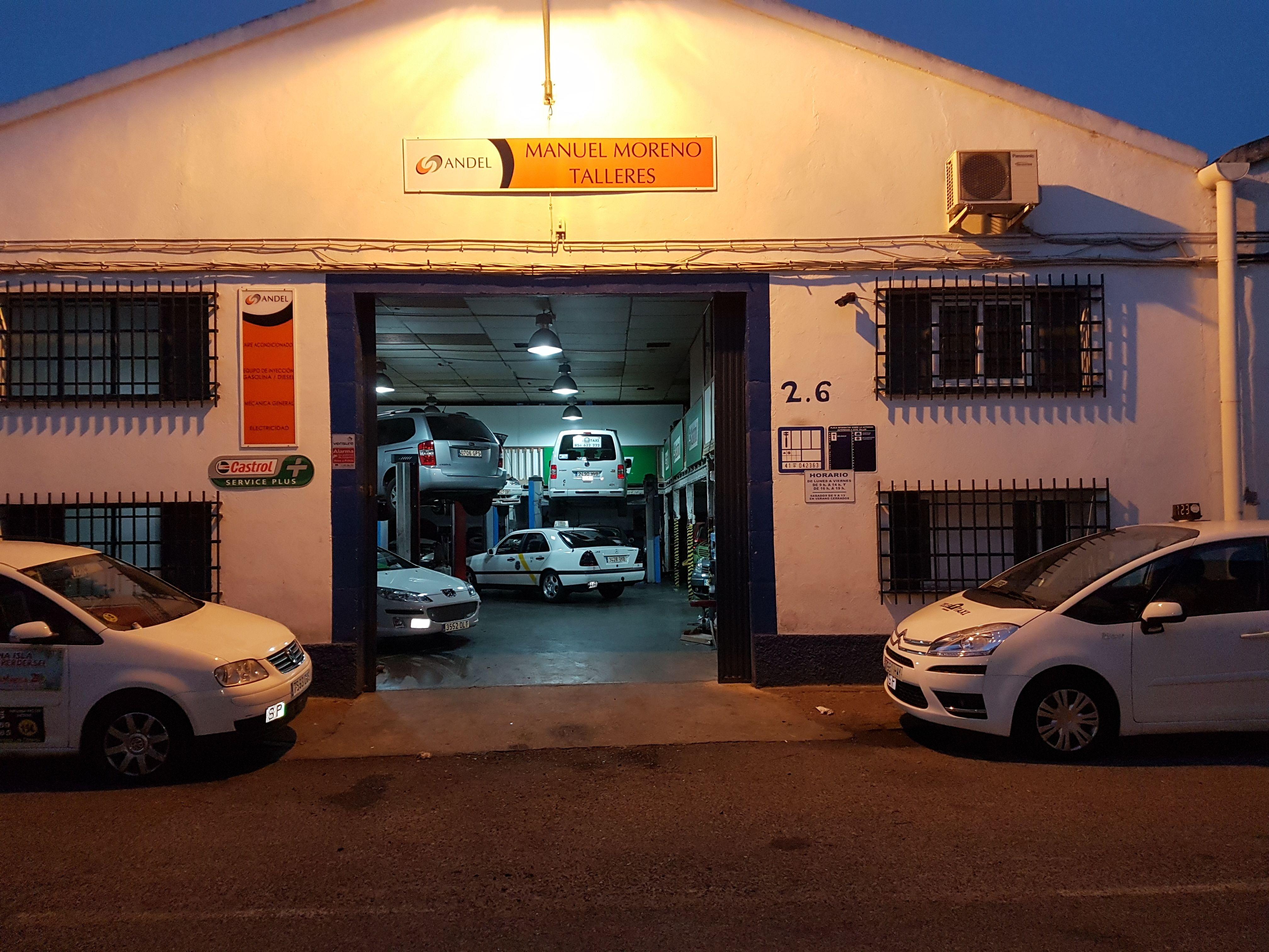 Montaje equipos GLP: Servicios de Taller Manuel Moreno