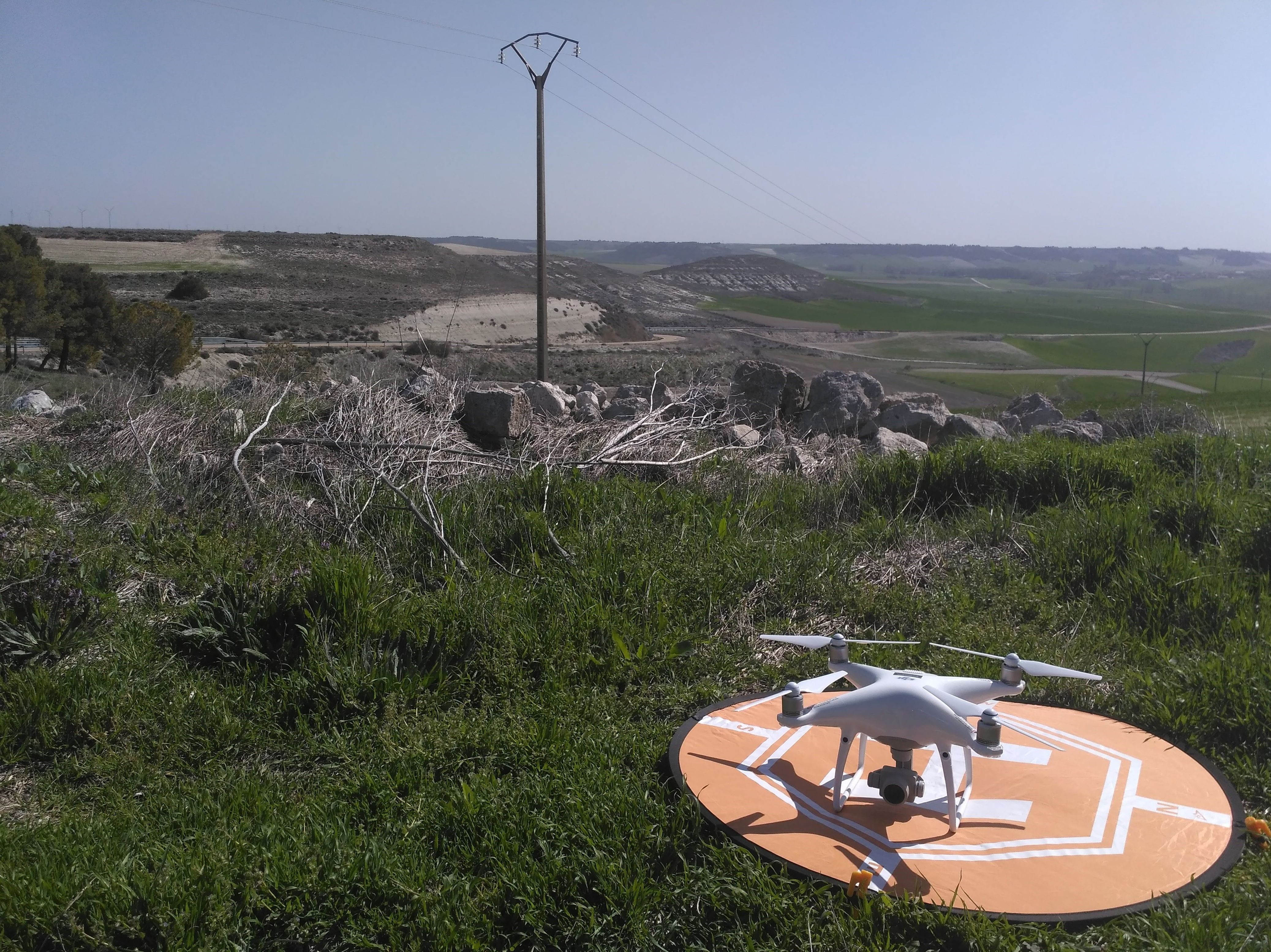 Topografía con drones en Valladolid