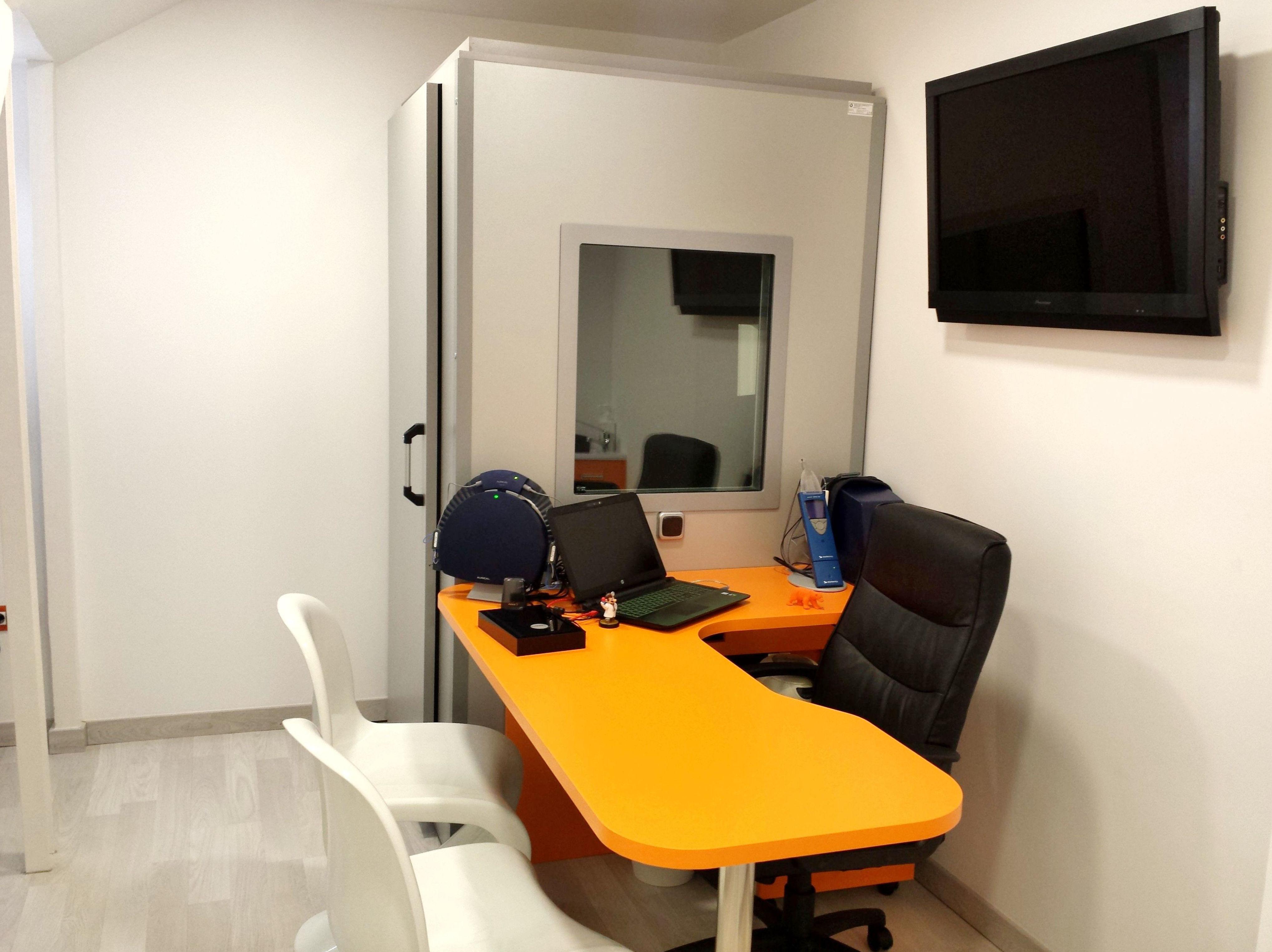 Gabinete de audiología en Fuenlabrada.