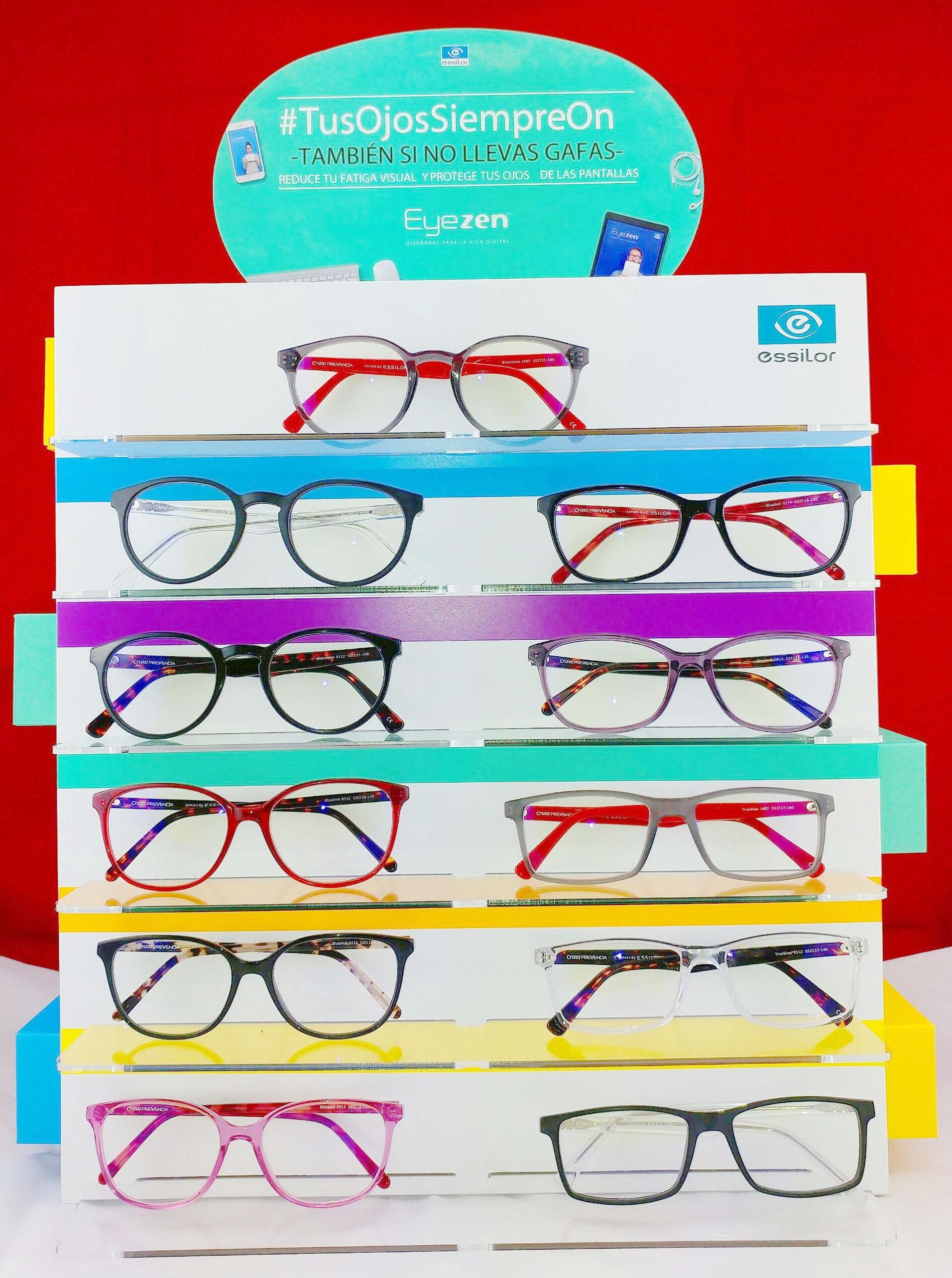 Gafas con filtro de luz azul en Fuenlabrada