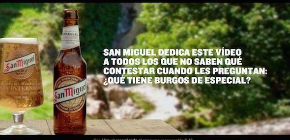 Publicidad Spot  Cervezas San Miguel