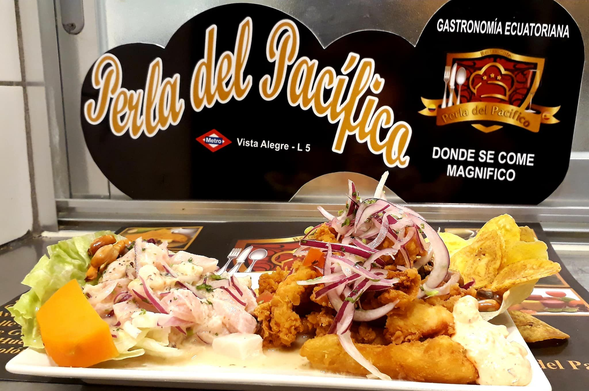 Restaurante latino en Carabanchel Madrid