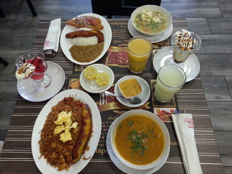 Cocina ecuatoriana en Carabanchel Madrid