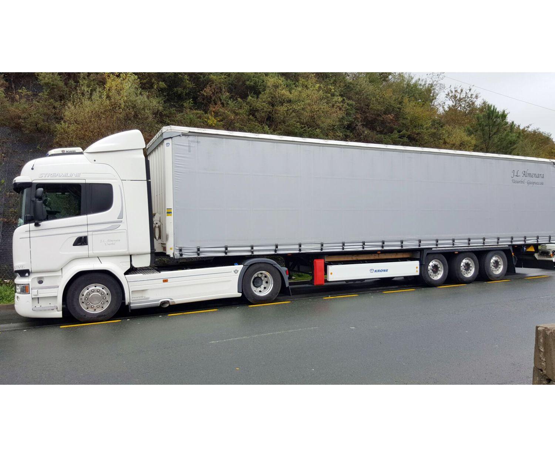 Empresa de transporte de mercancías por carretera en Donosti