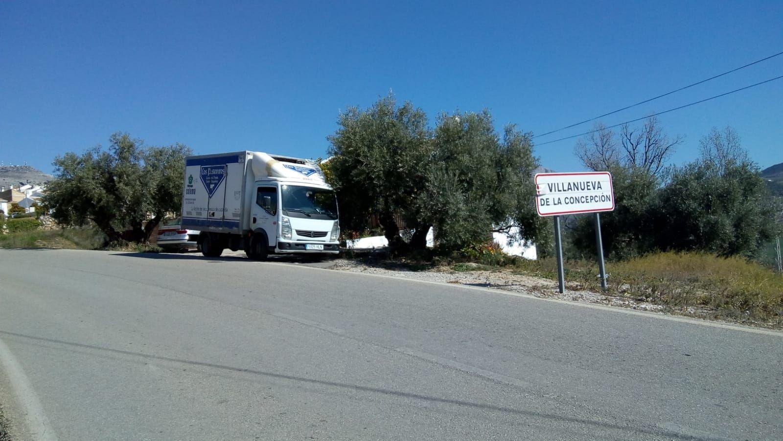 Distribución de productos lácteos en la provincia de Málaga