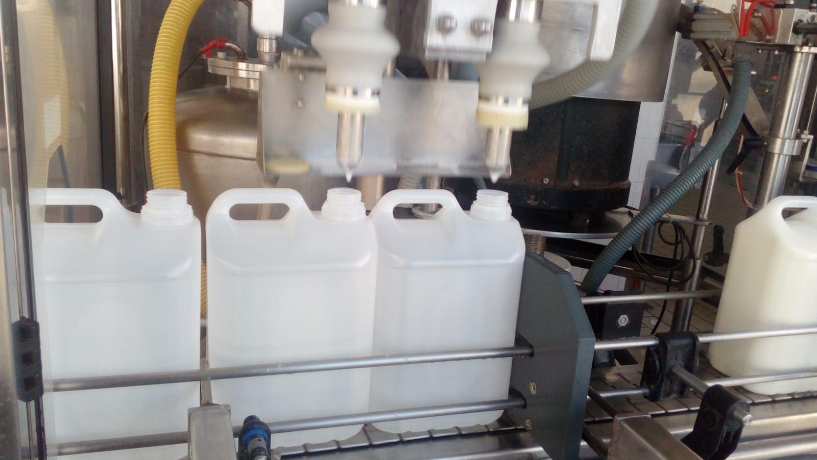Elaboración de leche semidesnatada en Málaga