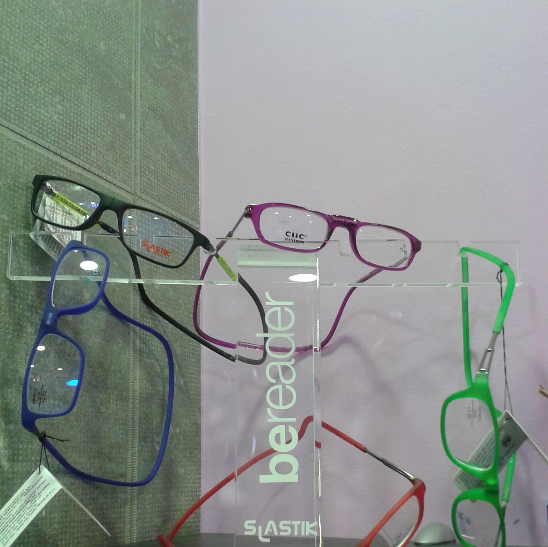 Gafas con monturas especiales