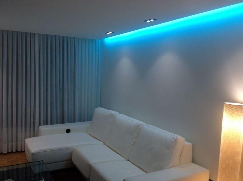 Proyectos de iluminación led Chamberi madrid