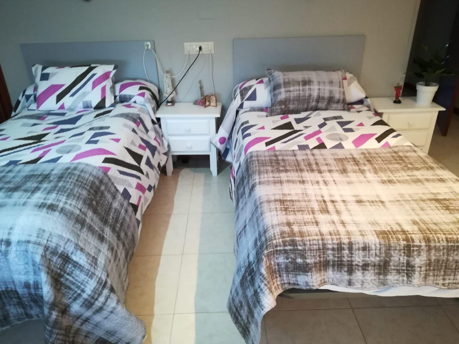 Las habitaciones están diseñadas teniendo en cuenta los criterios de movilidad e intimidad de los usuarios