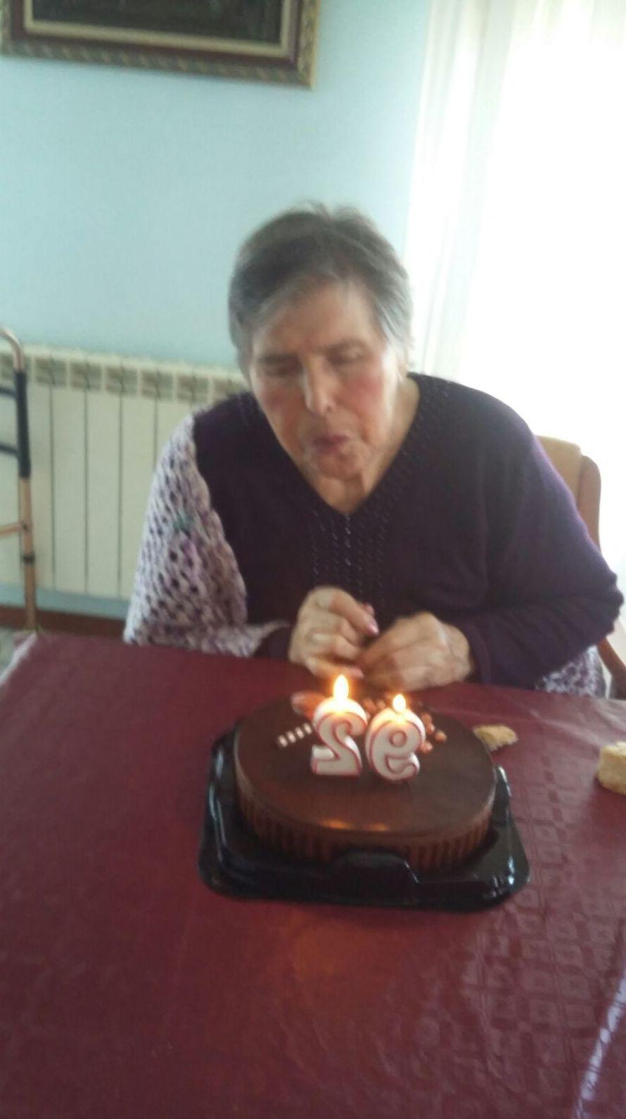 Lidia cumple 92 años!! Felicidades. Qué buen rato pasamos