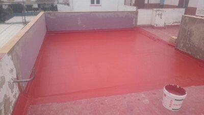 Trabajos de impermeabilización en Chipiona