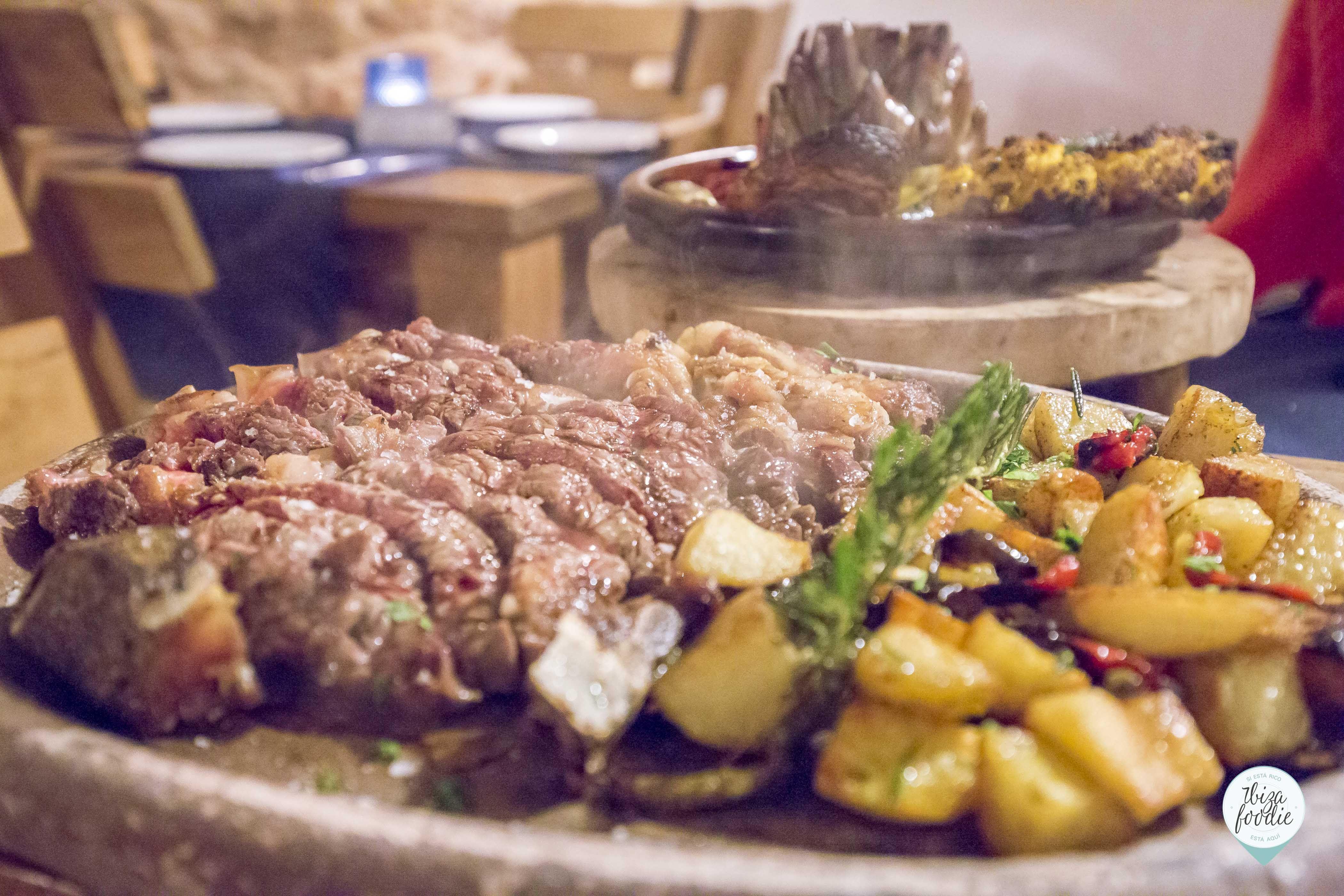 Carnes, cortes especiales (maduración 45 días): Carta de Can Mosson