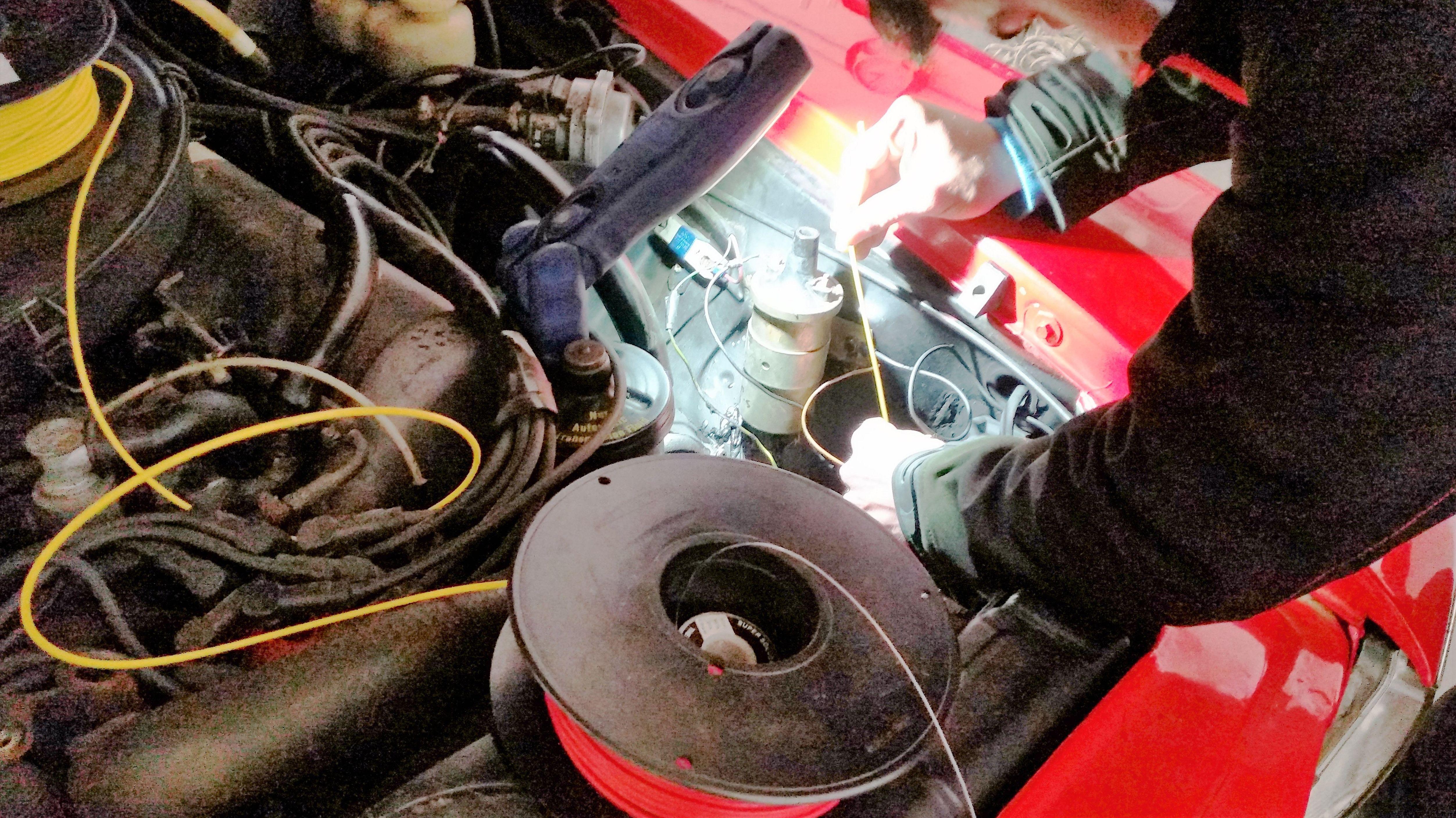 Reparando problema eléctrico