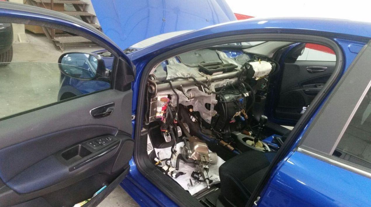 Taller de electricidad del automóvil