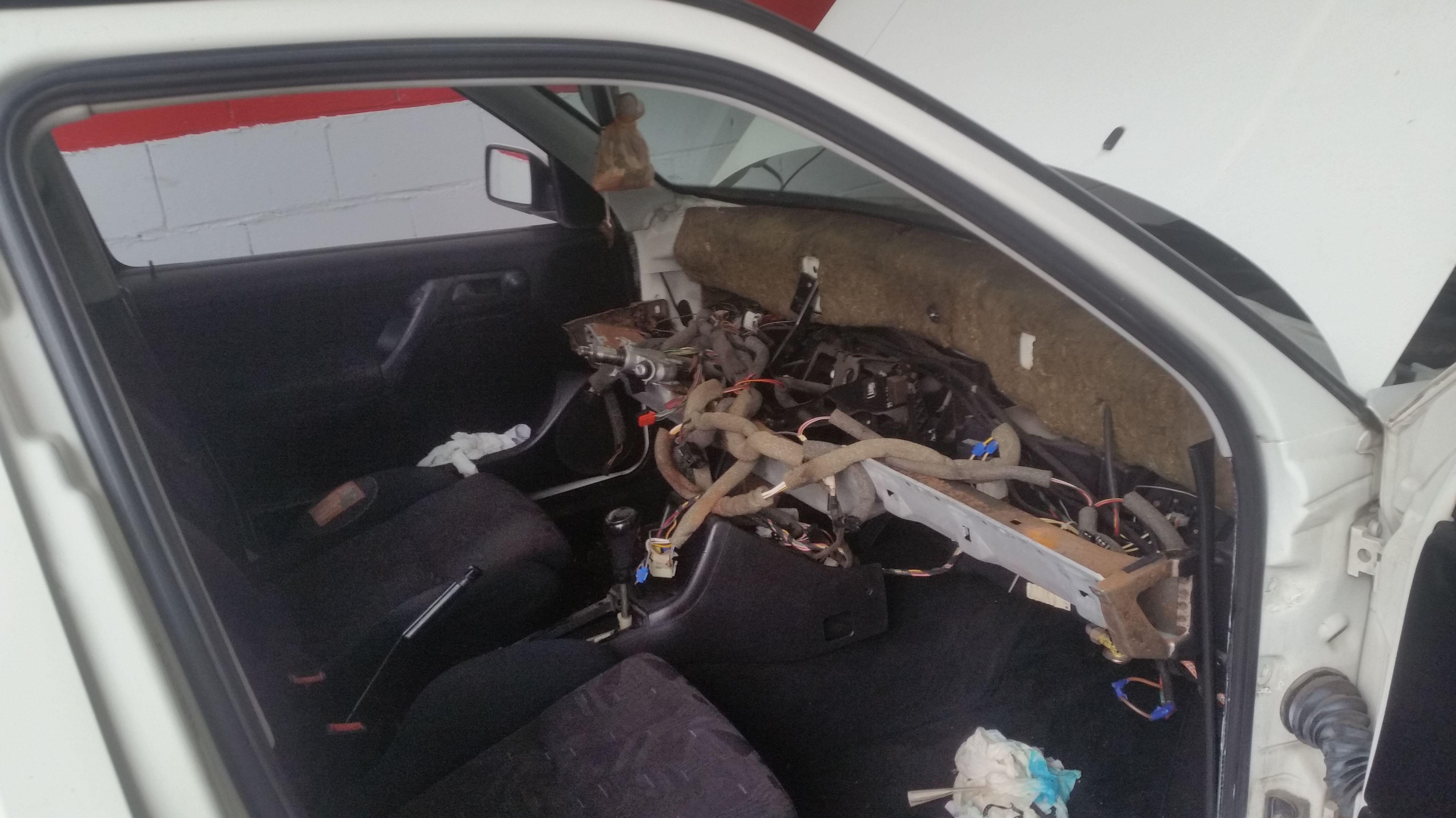 Cambio radiador calefacción VW Golf GTI