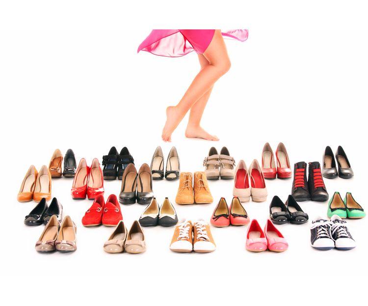 Zapatos cómodo de mujer