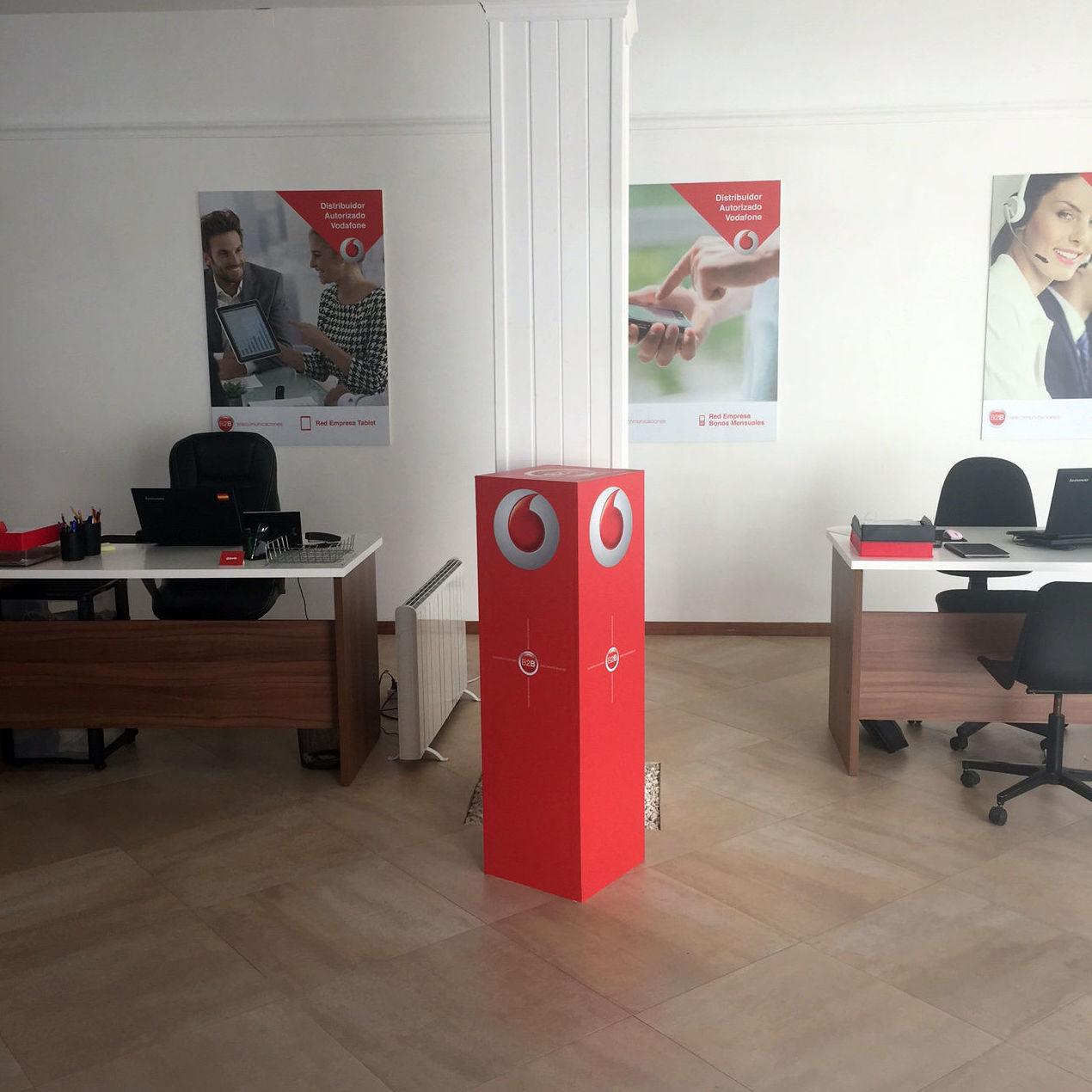 Distribuidor autorizado Vodafone en Bailén, Jaén