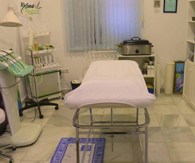 Nuestra sala de masajes y tratamientos corporales